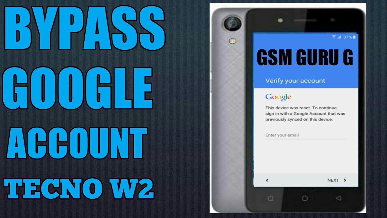 bypass Google account TECNO mobile Remove FRP