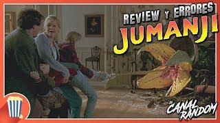 ERRORES de películas JUMANJI 1995 Review Crítica y Resumen