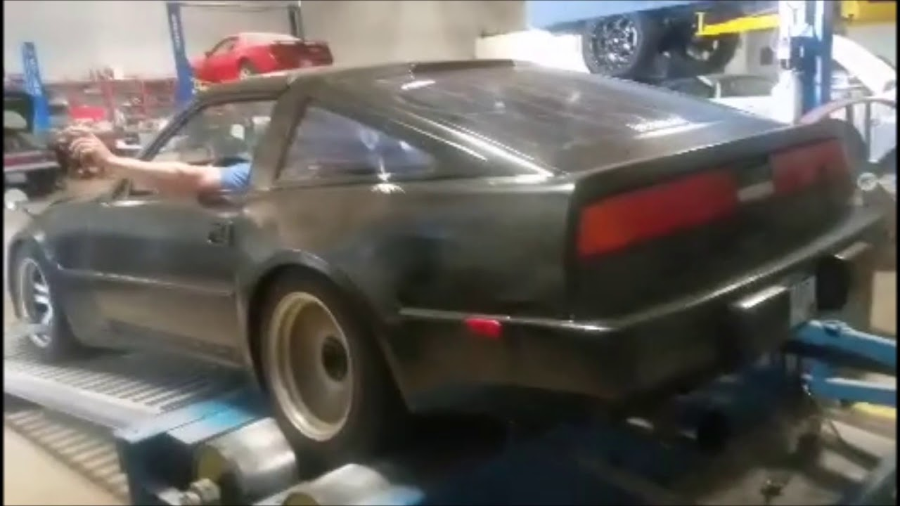 Na Z31 300zx Dyno Stock Bottom Na Z31 Record On Mustang Dyno Youtube