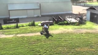 Redneck Lawnchair Race