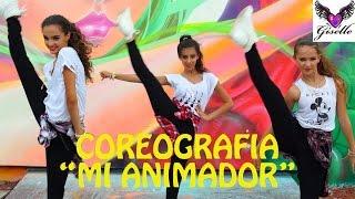 """Mi animador"" aprende la coreografia con Giselle, Vivian y Rosie"