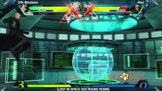 UMVC3: STA Windzero vs Alex - Round Robin - LOST IN SPACE 003