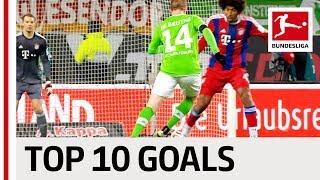 Top 10 Goals Opening Fixtures of the Second Half of the Season - James, Reus, De Bruyne & Co.