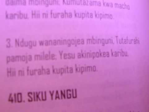 SIKU MATESO YATAKAPOKWISHA! (2nd VERSION)