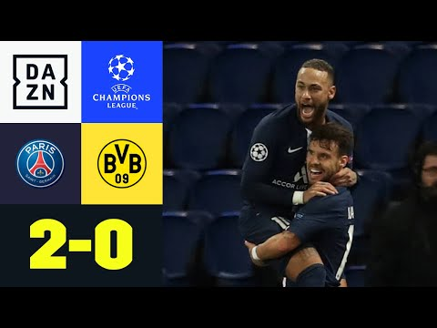 Neymar & Bernat schmeißen harmlosen BVB raus: PSG - Dortmund 2:0 | UEFA Champions League | DAZN