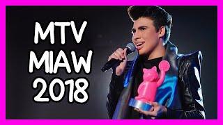 MTV MIAW 2018 CON LA DIVAZA