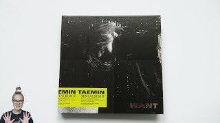 Baixar Unboxing Taemin 태민 2nd Korean Mini Album WANT (Want Edition)