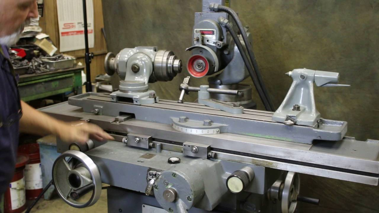 Tool And Cutter Grinder ~ Cincinnati milacron universal tool cutter