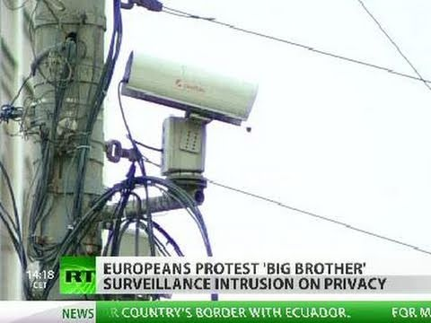 Citizens vs CCTV: State 'spying' sparks mass protests in EU