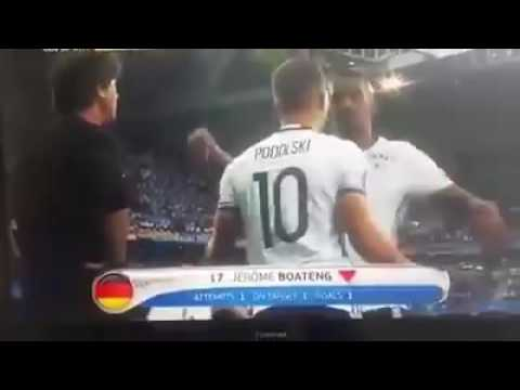 BOATENG REFUSES TO GIVE HAND TO JOACHIM LÖW