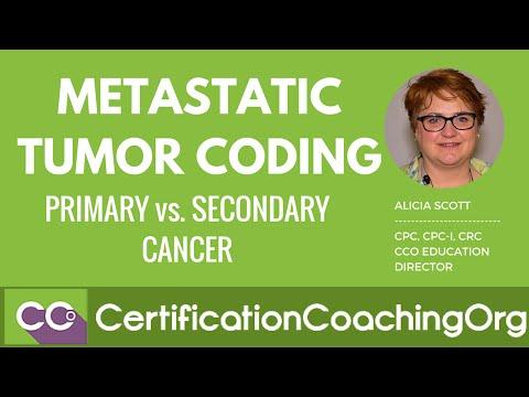 Metastatic Tumor Coding - Primary vs. Secondary Cancer