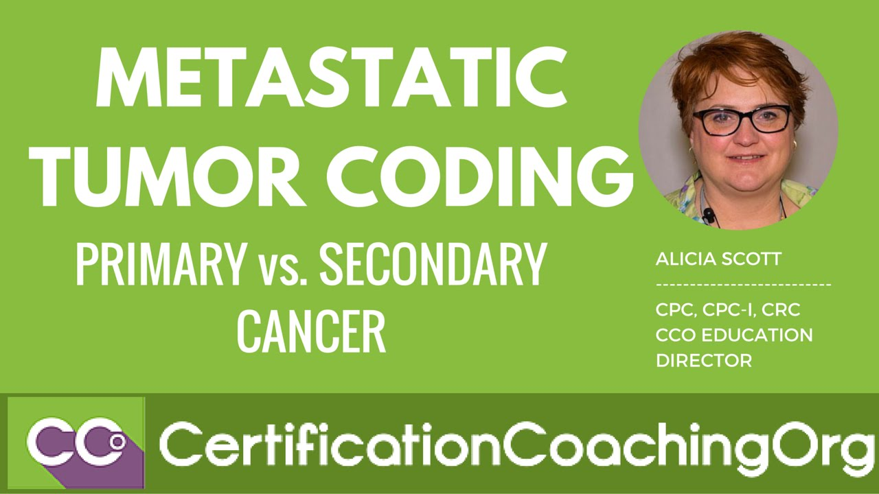 Metastatic cancer coding, Metastatic cancer coding