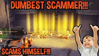 Dumbest Scammer Scams Himself! (Scammer Gets Scammed) Fortnite Save The World