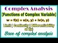◆Functions of complex variable | Complex variable functions | complex analysis