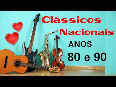Clássicos nacionais anos 80 e 90 💕🎶 Românticas