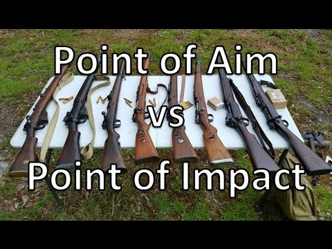 Point of Aim vs Point of Impact with Military Surplus RIfles