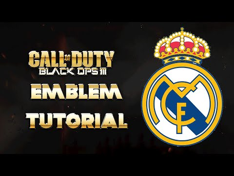 EMBLEMA REAL MADRID | BLACK OPS 3 | by SergioLiveHD