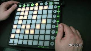 mmag.ru: Novation Launchpad Ableton MIDI controller video review