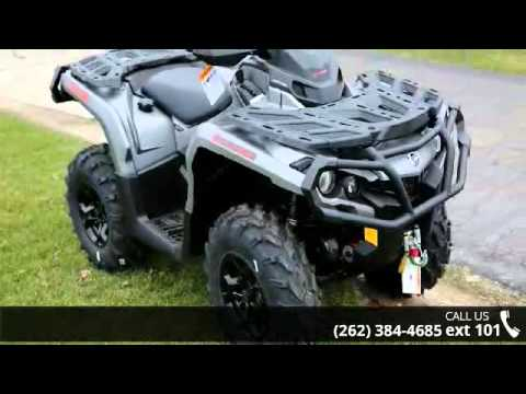 2016 Can Am Outlander Xt 650 Brushed Aluminum Action P