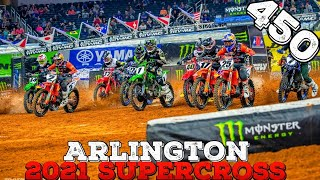 2021 Arlington Supercross 450 Recap