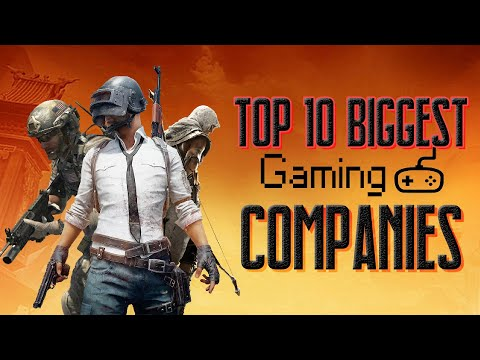 Top 10 Biggest Gaming Companies