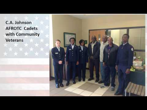 C A Johnson High School Veteran's Day Celebration