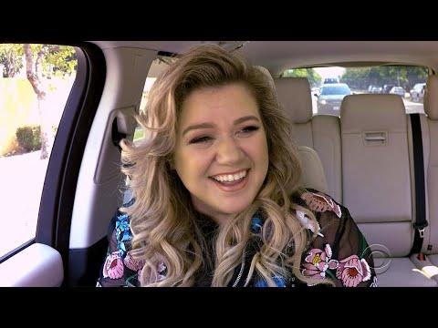 James Corden Turns Kelly Clarkson's 'Carpool Karaoke' Into Date Night With Hubby Brandon Blacksto…