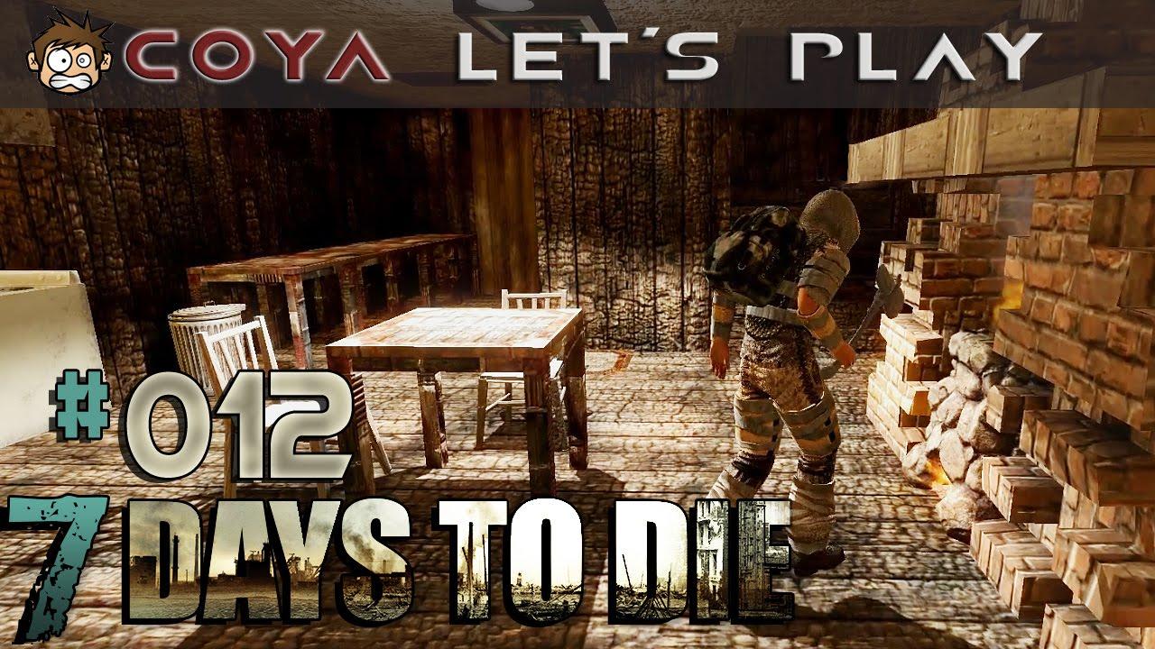 7 days to die #012 ? gemütlich am kamin ? 7d2d gameplay german ... - Kamin Gemtlich