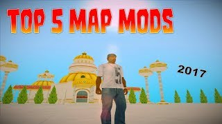 GTA San Andreas Top 5 Map Mods 2017 (NEW)