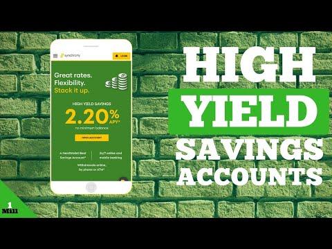 7 High Interest Internet Savings Accounts