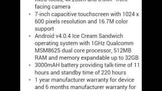 Micromax Canvas Tab P650E Tablet (WiFi), Silver