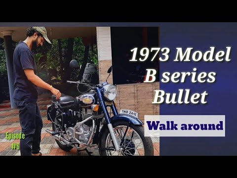 1973 model Enfield India bullet walkaround and ride | old bullet