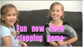 """Sally Was A Baby"" Fun New Hand Clapping Game"