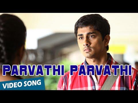 Parvathi Parvathi Official Video Song | Kadhalil Sodhapuvadhu Yeppadi | Siddharth | Amala Paul