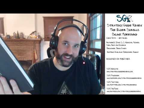 The Elder Scrolls Online: Morrowind Strategy Guide Review