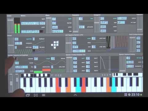 SynprezFM: a full-fledged Yamaha DX7 emulator for Android