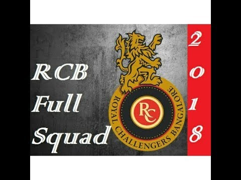 IPL 2018 Royal Challengers Bangalore Full Squad | by 21 Planets
