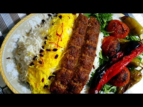 Spicy Chelo Kebab Recipe Made In Oven Grill Without Coal Grill