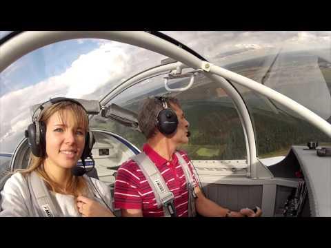 RV7 in Ādaži tandem flight