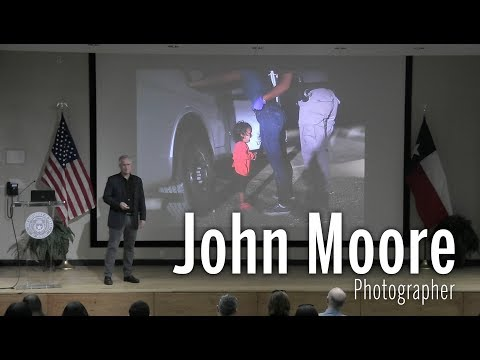 A Talk by John Moore, Pulitzer Prize-Winning Photojournalist