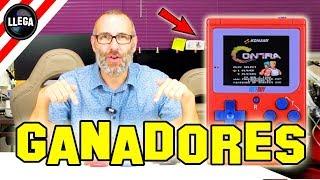 GANADORES SORTEO 3+1 BittBoy By LlegaVideos