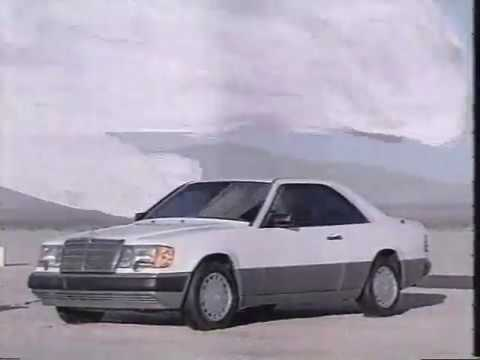 """Mercedes-Benz 300 CE Coupe: """"Form and Function"""" (circa 1988)"""