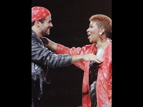 ARETHA FRANKLIN & GEORGE MICHAEL I knew you were waiting for me (Special Version)
