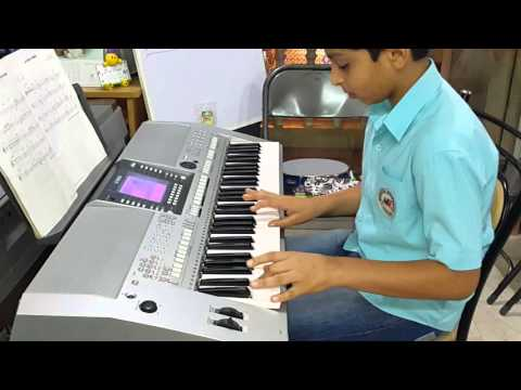 Musical Moments Bangalore Student Mr.Anurag Performing Trinity London Grade 1 Keyboard Song