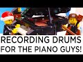 I Recorded Drums for THE PIANO GUYS - All I Want For Christmas Is You