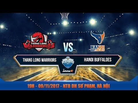 #Livestream || Bán Kết 2 - Game 1: Thang Long Warriors vs Hanoi Buffaloes 08/11| VBA 2017 by Jetstar