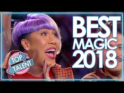 Top 10 Magician Auditions WORLDWIDE 2018 | Top Talent