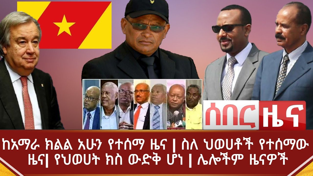 TPLF Leader And Their Current Situation