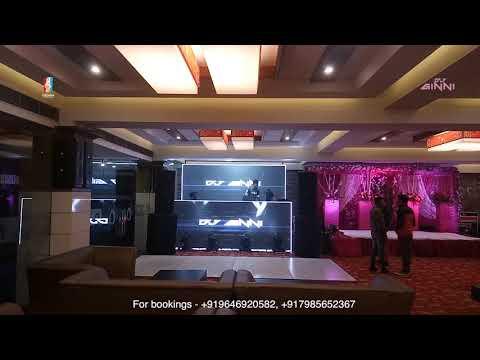 Crown Events DJ GINNI Indoor Setup For Weddings