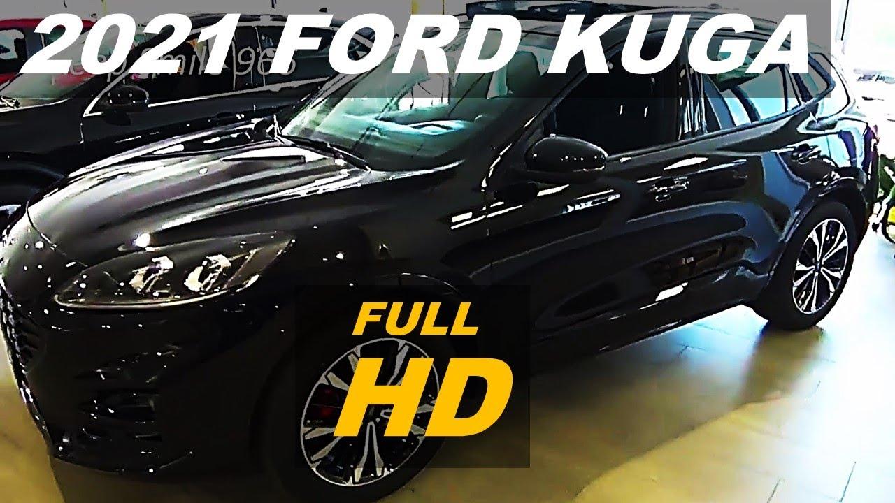 allnew 2021 ford kuga st line  super black best car
